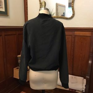 American Apparel Jackets & Coats - American Apparel faux silk bomber jacket